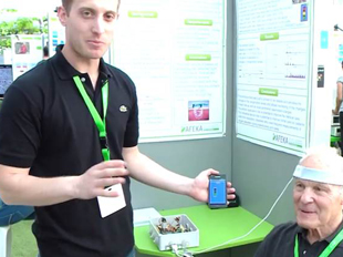 A Mobile Non Invasive Device to Gauge the Peripheral Level of Oxygen